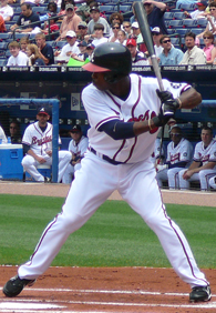 Baseball Photos - Willie Harris - Harris with the Braves in 2007.