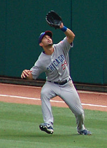 Baseball Photos - Angel Pagan - Pagán playing for the Chicago Cubs in 2007.