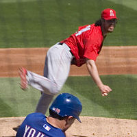 Baseball Photos - Dan Haren
