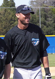 Baseball Photos - Alex Rios - Ríos during his tenure with the Blue Jays in 2007 spring training.