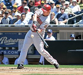 Baseball Photos - Adam Dunn - Dunn batting for the Arizona Diamondbacks on August 27
