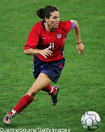 Soccer Photos - Julie Foudy - Julie Foudy United States