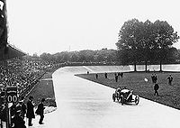 Motorsports Photos - Grand_Prix_Motor_Racing - Georges Boillot winning the 1912 French Grand Prix in Dieppe