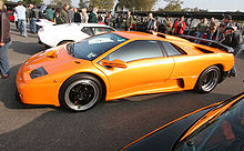 Motorsports Photos - Lamborghini - The Diablo would be Lamborghini's mainstay throughout the 90s