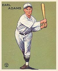 Baseball Photos - Sparky Adams
