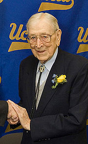 College Basketball Photos - 1930 NCAA Men's Basketball All- Americans - John Wooden was a three-time Consensus All-America selection at Purdue beginning in 1930.