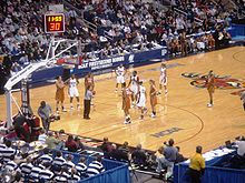 College Basketball Photos - 2008 NCAA Women's Division I Basketball Tournament - The University of Connecticut Huskies play the University of Texas Longhorns in the second round at Arena at Harbor Yard in Bridgeport