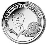 Soccer Photos - 2006 FIFA World Cup - 2006 FIFA World Cup Belgian Coin
