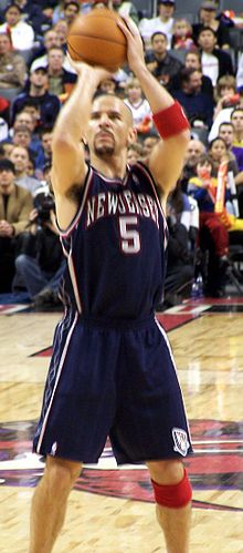 Basketball Photos - 2002 NBA Finals Men's Basketball - Jason Kidd