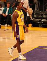 Basketball Photos - 2010 NBA Finals Men's Basketball - Lakers forward Ron Artest made a critical three point field goal late in the fourth quarter to give the Lakers a six-point lead.