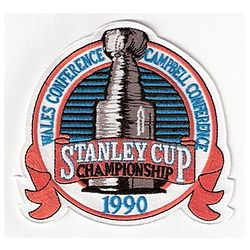 Hockey Photos - 1990 Stanley Cup Finals