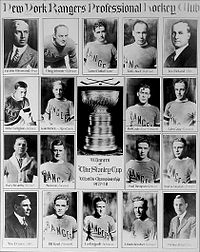 Hockey Photos - 1928 Stanley Cup Finals - New York Rangers 1928 Stanley Cup champions