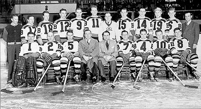 Hockey Photos - 1939 Stanley Cup Finals - Boston Bruins 1939 Stanley Cup champions