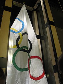 "Olympics Photos - 1952 Winter Olympics - The ""Oslo flag"""
