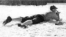 Olympics Photos - 1960 Winter Olympics - Klas Lestander during the 1960 Olympic biathlon competition
