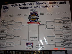 College Basketball Photos - 2008 NAIA Men's Basketball Tournament - The 2008 NAIA Men's Basketball Bracket