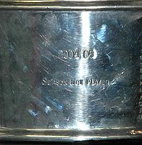 Hockey Photos - 2005 Stanley Cup Playoffs - The Stanley Cup acknowledges the canceled 2004