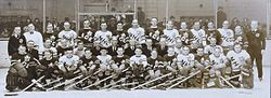 Hockey Photos - 1934 Stanley Cup Playoffs - Participants of Ace Bailey Benefit game