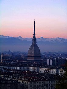 Olympics Photos - 2006 Winter Olympics - Mole Antonelliana in Turin.