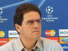 Soccer Photos - Fabio Capello - Capello during his second spell with Madrid
