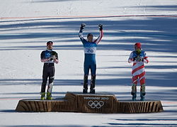 Olympics Photos - 2010 Alpine Skiing Men's Combined At The Winter Olympics