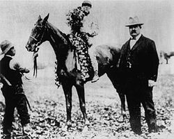 Horse Racing Photos - 1908 KentuckyDerby - 1908 Kentucky Derby winner Stone Street
