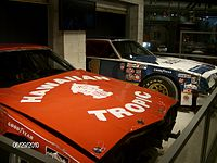 Motorsports Photos - 1979 Daytona 500 - The cars of Cale Yarborough and Donnie Allison during the 1979 Daytona 500 in the NASCAR Hall of Fame.
