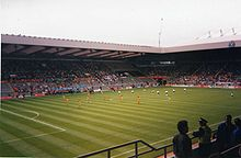 Soccer Photos - 1996 UEFA Euro Cup - Group B game Bulgaria v Romania at St James' Park