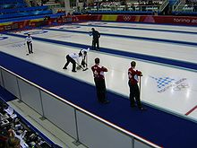 Olympics Photos - Olympic Sports - Curling was promoted to official Olympic sport at the Nagano 1998 Winter Olympics.