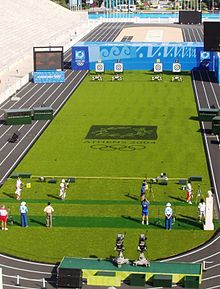 Olympics Photos - Olympic Sports - Archery competition held during the Athens 2004 Summer Olympics. Dropped from the Olympic program after the Antwerp games