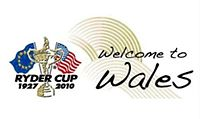 Golf Photos - 2010 Ryder Cup - Welcome to Wales logo