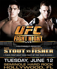 Sports Photos - 2007 UFC Fight Night: Stout Vs Fisher - UFC Fight Night 101