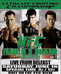 Sports Photos - 2007 UFC 72 Victory - A poster or logo for UFC 72: Victory.