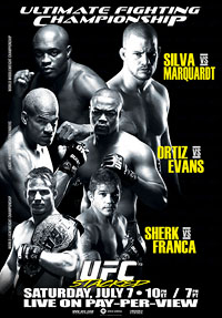 Sports Photos - 2007 UFC 73 Stacked - A poster or logo for UFC 73: Stacked.