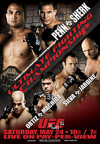 Sports Photos - 2008 UFC 84 Iii Will - A poster or logo for UFC 84: Ill Will.
