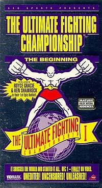 Sports Photos - 1993 UFC 1 The Beginning - A poster or logo for UFC 1: The Beginning.