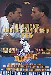 Sports Photos - 1994 UFC 3 The American Dream - A poster or logo for UFC 3: The American Dream.