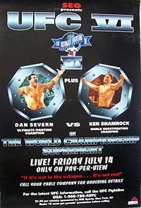 Sports Photos - 1995 UFC 6 Clash Of The Titans - A poster or logo for UFC 6: Clash of the Titans.