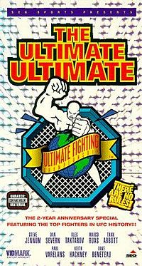 Sports Photos - 1995 UFC Ultimate Ultimate - A poster or logo for Ultimate Ultimate 1995.