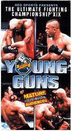 Sports Photos - 1999 UFC 19 Ultimate Young Guns - A poster or logo for UFC 19: Ultimate Young Guns.