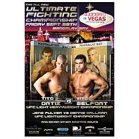 Sports Photos - 2001 UFC 33 Victory In Vegas - A poster or logo for UFC 33: Victory in Vegas.