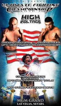 Sports Photos - 2001 UFC 34 High Voltage - A poster or logo for UFC 34: High Voltage.