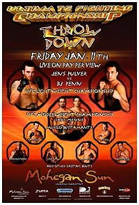 Sports Photos - 2002 UFC 35 Throwdown - A poster or logo for UFC 35: Throwdown.
