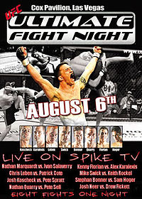 Sports Photos - 2005 UFC Ultimate Fight Night 1 - A poster or logo for Ultimate Fight Night 1.