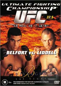 Sports Photos - 2002 UFC 37.5 As Real As It Gets - A poster or logo for UFC 37.5: As Real As It Gets.