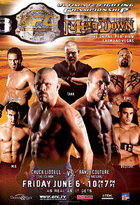 Sports Photos - 2003 UFC 43 Meltdown - A poster or logo for UFC 43: Meltdown.