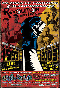 Sports Photos - 2003 UFC 45 Revolution - A poster or logo for UFC 45: Revolution.