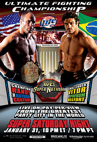 Sports Photos - 2004 UFC 46 Supernatural - A poster or logo for UFC 46: Supernatural.