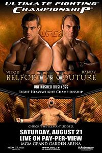 Sports Photos - 2004 UFC 49 Unfinished Business - A poster or logo for UFC 49: Unfinished Business.