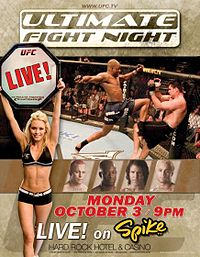 Sports Photos - 2005 UFC Ultimate Fight Night 2 - A poster or logo for Ultimate Fight Night 2.